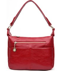 women bags designer real leather soft luxury shoulder messenger bag female tote