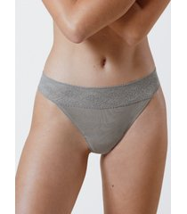 skarlett blue petal one size cotton thong