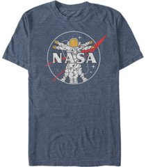 nasa men's astronaut logo short sleeve t-shirt