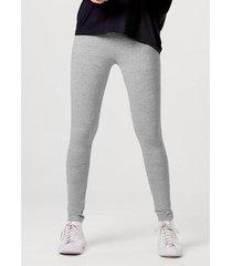 calça hering legging básica em malha com elastano feminina
