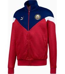 bangkok trainingsjack voor heren, blauw/rood/aucun, maat xs | puma