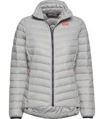 w verglas down insulator outerwear sport jackets padded jacket grijs helly hansen