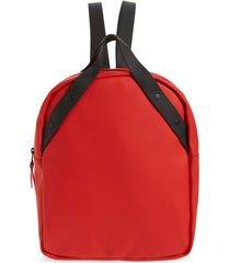 rains go waterproof backpack - red