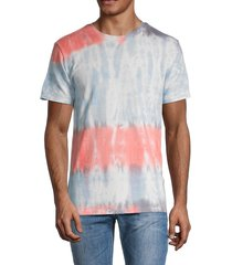 american stitch men's tie-dyed t-shirt - blue multi - size xl