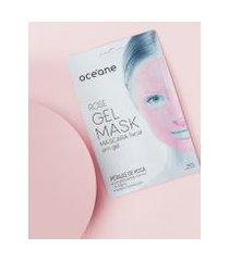 amaro feminino oceane máscara facial em gel -  gel mask, rose