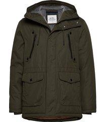 jackets outdoor woven parka jacka grön edc by esprit