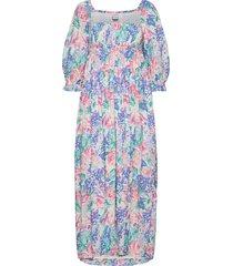 brisa midi dress knälång klänning multi/mönstrad faithfull the brand