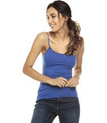 camiseta esqueleto  azul ambiance