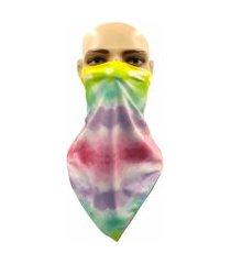 bandana bos brothers of soul tie dye algodão doce multicolorido