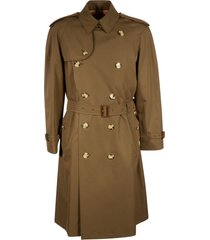 burberry double-breasted belted trench