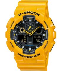 reloj g-shock modelo g-shock amarillo hombre