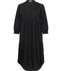nelly 3/4 long shirt jurk knielengte zwart soft rebels
