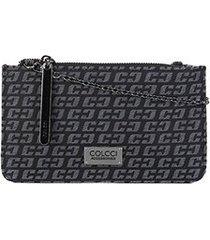 bolsa colcci jacquard mini bag feminina
