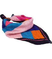 pañuelo multicolor nuevas historias plisado formas geométricas ba1303bis
