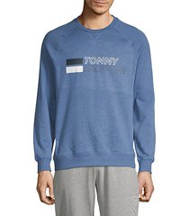 sleepwear logo cotton-blend sweatshirt
