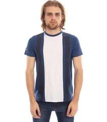 camiseta aleatory listrada farry masculina