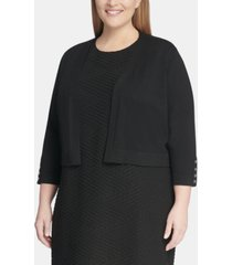 tommy hilfiger plus size classic cardigan