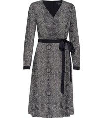 dresses light woven jurk knielengte zwart esprit collection
