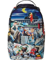 sprayground street fighter backpack |multi| 2715-stft