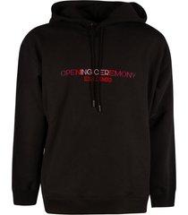 opening ceremony embro text logo regular hoodie