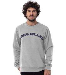 moletom long island way masculino