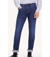 jeans extra slim layton azul tommy hilfiger