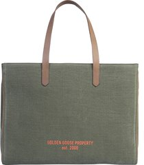 golden goose designer handbags, tote east west bag