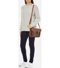 the cambridge satchel company women's 11 inch magnetic satchel - vintage