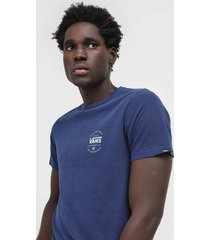 camiseta vans over elaborate azul-marinho
