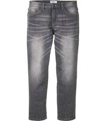 jeans elasticizzati regular fit straight (grigio) - john baner jeanswear