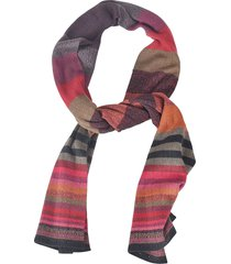 de clercq stripe patterned scarf