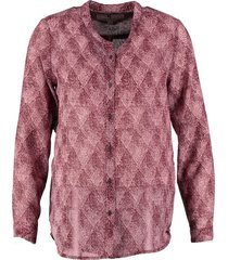 garcia soepele polyester blouse burgundy red