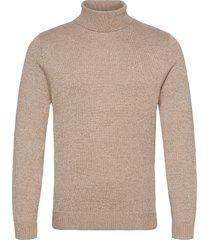 hco. guys sweaters knitwear turtlenecks beige hollister
