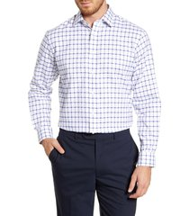 men's nordstrom men's shop traditional fit windowpane dress shirt