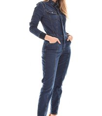 macacão jeans equivoco longo jackie