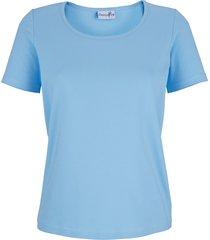 shirt dress in lichtblauw