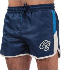 crosshatch mens barli shorts size 2xl in blue