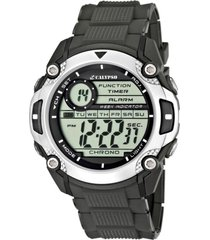 reloj digital for man gris calypso