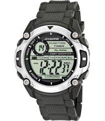 reloj digital for man gris calypso