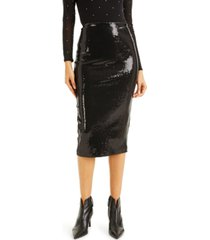 culpos x inc sequin pencil skirt, created for macy's