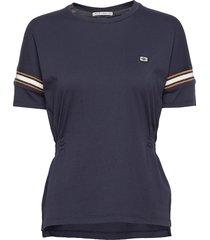 amsterdams blauw women t-shirts & tops short-sleeved blå scotch & soda