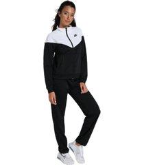 bicolor logo jumpsuit