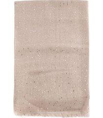 brunello cucinelli cashmere and silk powder scarf