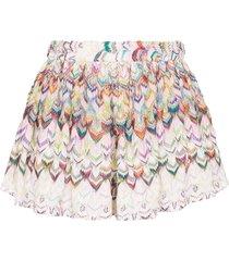 missoni mare crochet-knit shorts - pink
