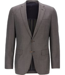boss men's halwon slim-fit wool blazer