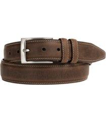 johnston & murphy distressed casual belt