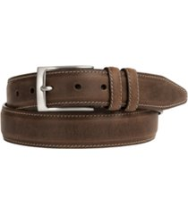 johnston & murphy distressed casual belt