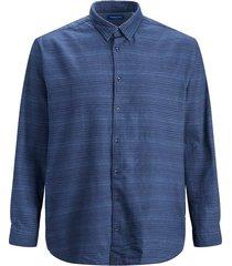 plus size overhemd geruit