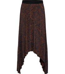 nicanora knälång kjol brun by malene birger