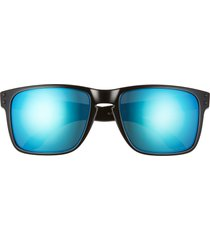 men's oakley holbrook xl 59mm mirrored square sunglasses -